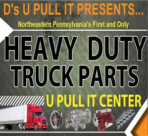 Click Here for D's U Pull It Heavy Duty Truck Parts