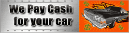 we pay cash for your car